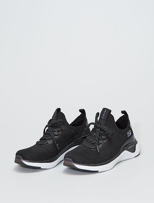 Baskets 'Skechers' pailletées                             noir