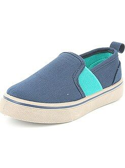 Baskets slip-on en toile