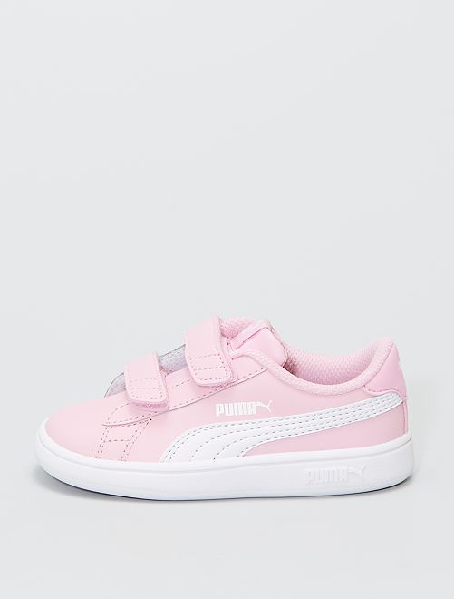 Baskets smash V2 L 'Puma'                             rose