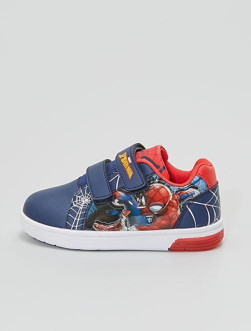 Baskets 'Spider-Man'                             bleu navy
