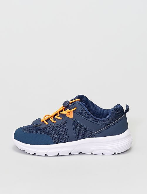Baskets style running                                         bleu navy