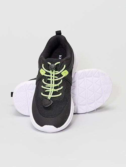 Baskets style running                                         noir