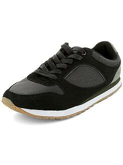 Chaussures homme - Baskets style sport bi-matière