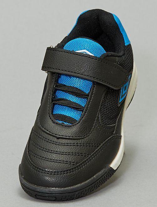 Baskets 'Umbro' en simili                             noir/bleu