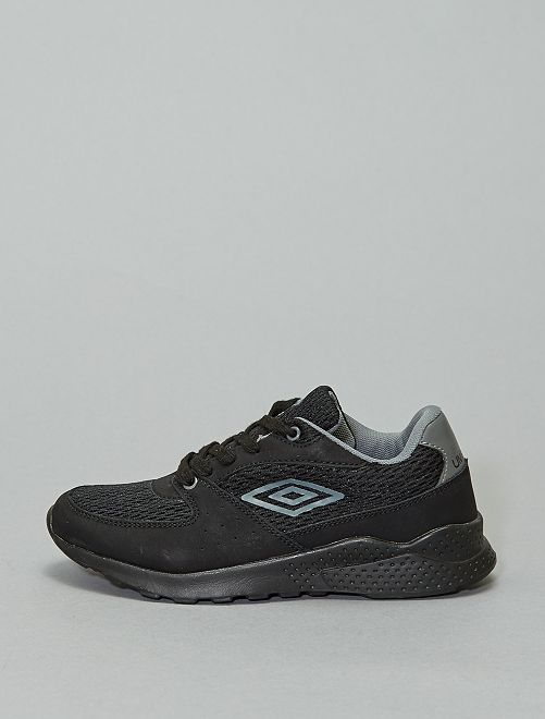 Baskets 'Umbro' textile et simili                             noir