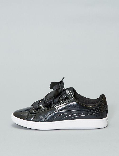 Baskets vernies 'Puma' 'Vikky'                                         noir Chaussures