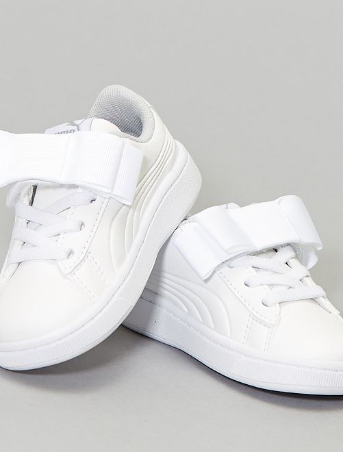 Baskets 'Vikky Ribbon' 'Puma'                                         blanc