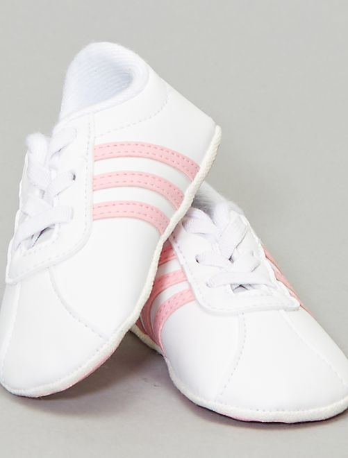 Baskets 'VL Court' 'adidas'                             blanc/rose