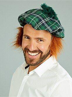 Béret écossais perruque intégrée - Kiabi