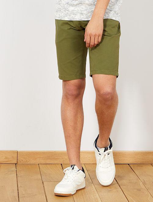 Bermuda 5 poches                                                                 kaki