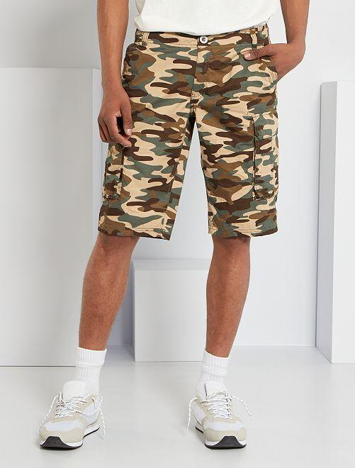 Bermuda battle camouflage                                         kaki