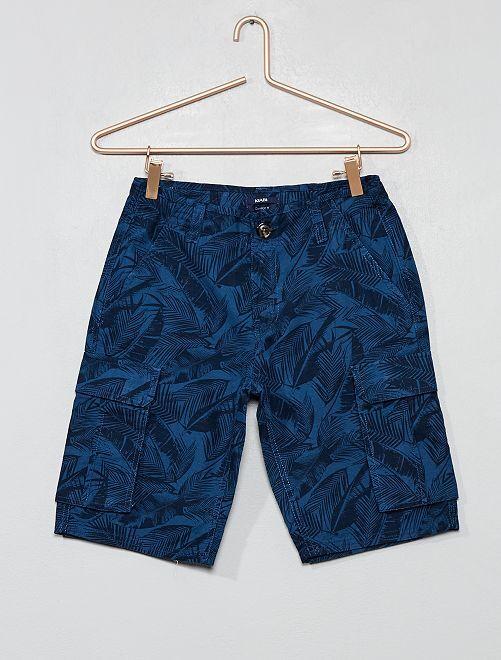 Bermuda battle comfort fit                                                                             bleu