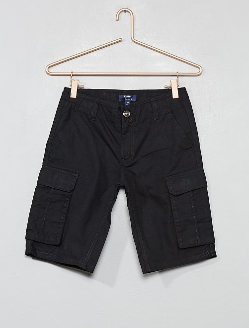 Bermuda battle comfort fit                                                                             noir Garçon adolescent