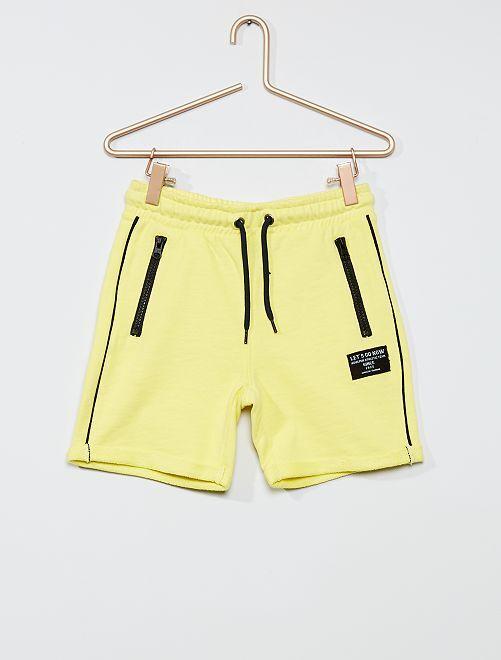 Bermuda bicolore                     jaune