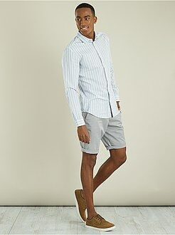 Bermuda, shorts - Bermuda chino en twill léger - Kiabi