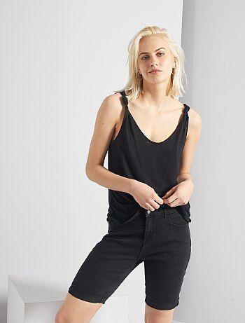 Short, pantacourt Vêtements femme | noir | Kiabi