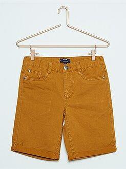Garçon 10-18 ans Bermuda en jean de couleur