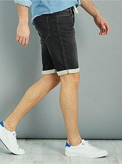 Homme du S au XXL Bermuda jogg jeans