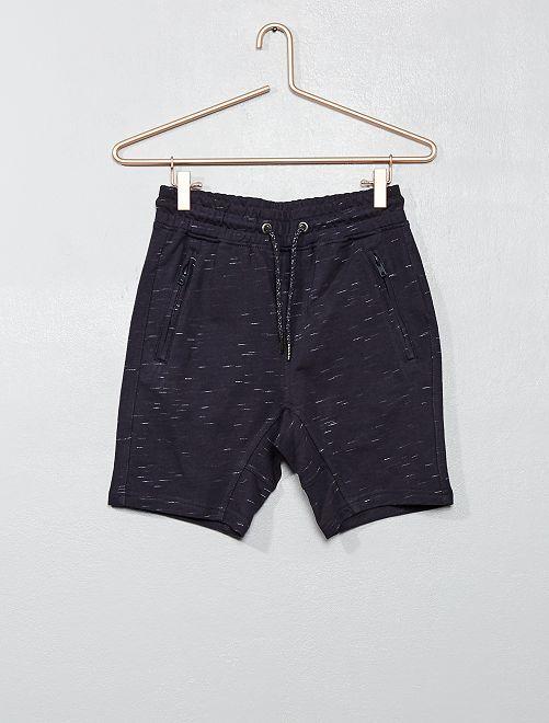 Bermuda poches zippées                                                     bleu gris