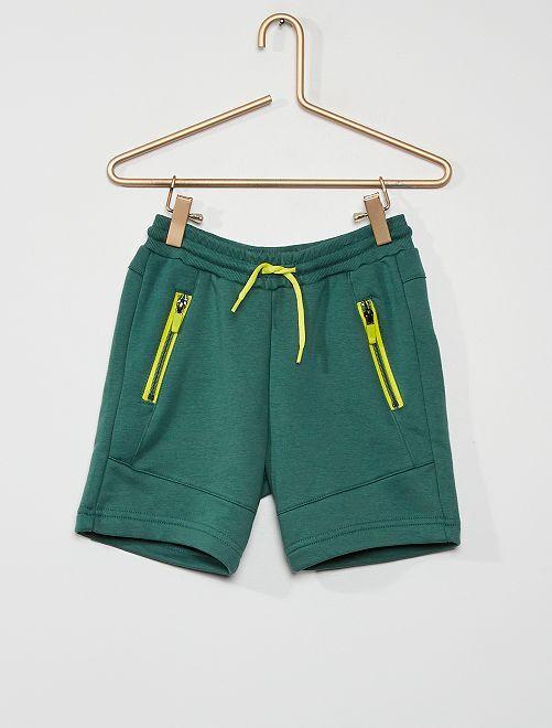 Bermuda poches zippés                                                     vert foncé