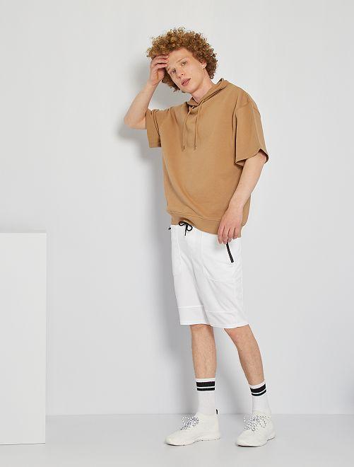 Bermuda sportswear                     blanc