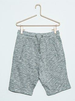 Bermuda sportswear en molleton