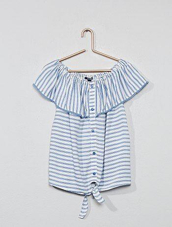 76be47b94a643 Chemise fille et blouse - vêtement Vêtements fille