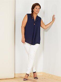Top, blouse - Blouse col lavalière - Kiabi
