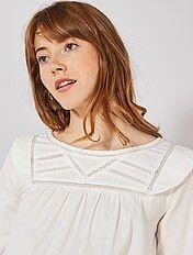 bas prix 1001d 03e76 Tunique grossesse, chemise et blouse pour femme enceinte ...