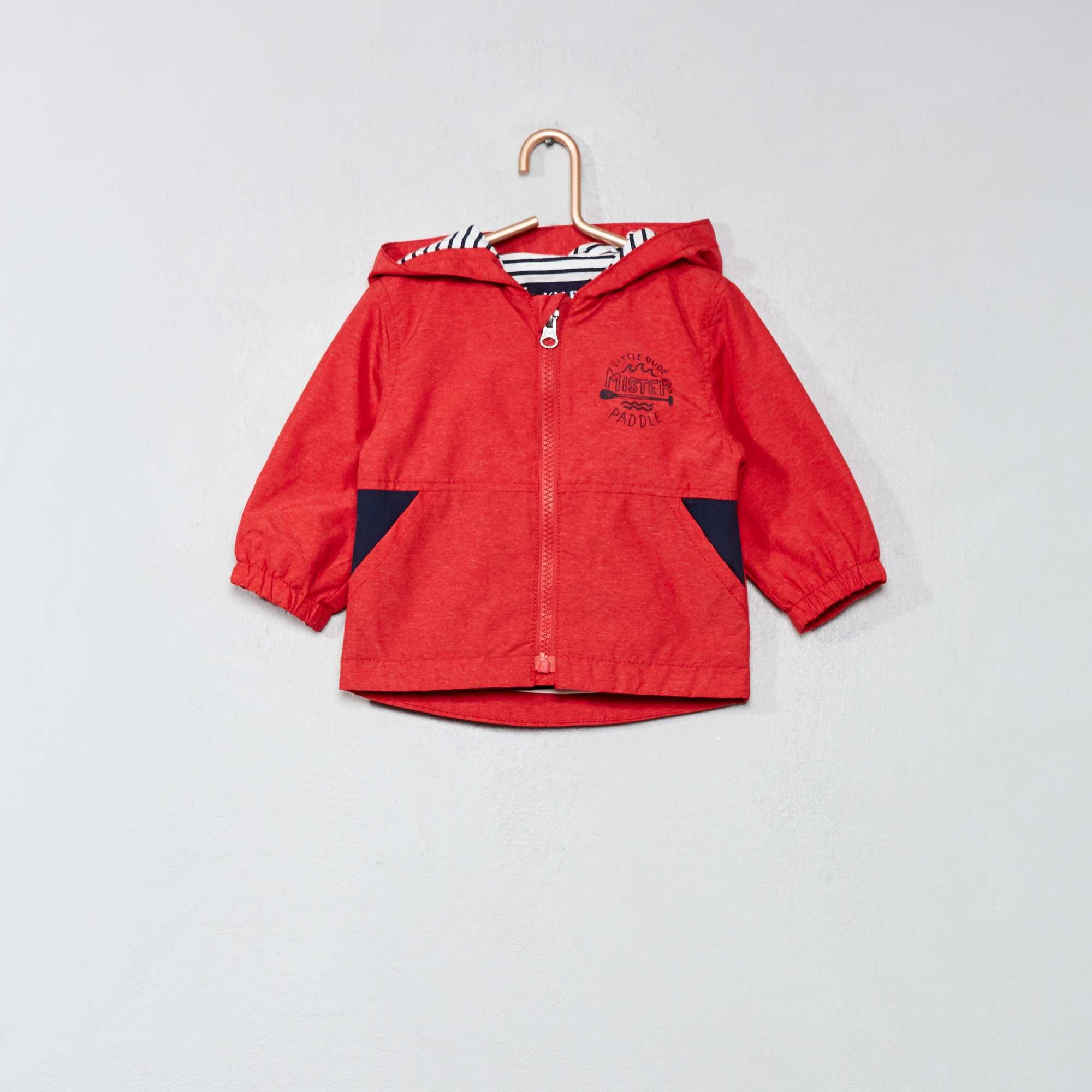 aeb94f00caa11 Blouson coupe-vent Bébé garçon - rouge - Kiabi - 10