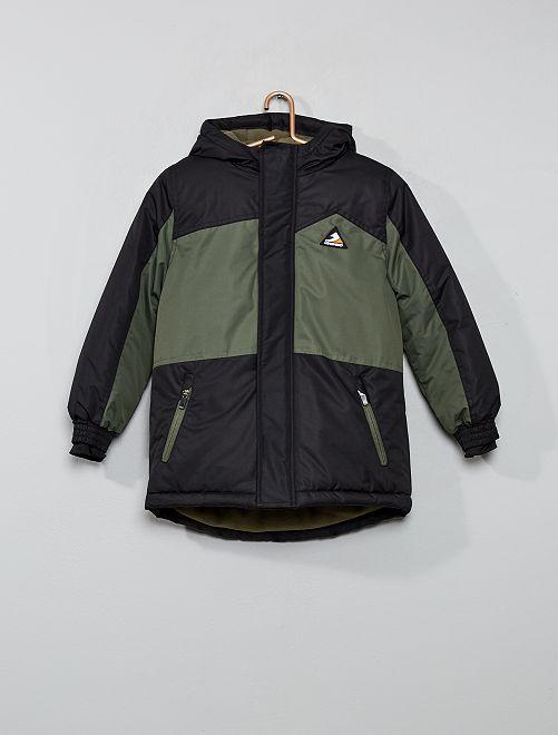 Blouson de ski bicolore 'Longboard'                                                     noir/kaki