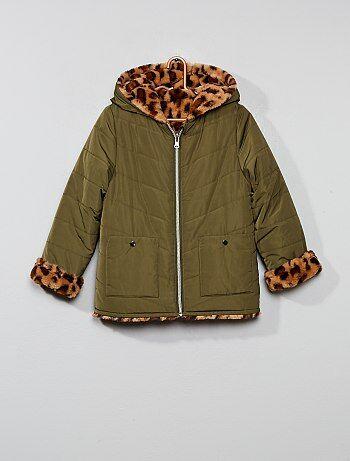 fddd621b8bf67 Soldes manteau fille, achat de vestes & blousons pour filles ...