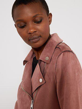 Femme Vêtements Kiabi Rose Veste Manteau FgqxwHn7CE