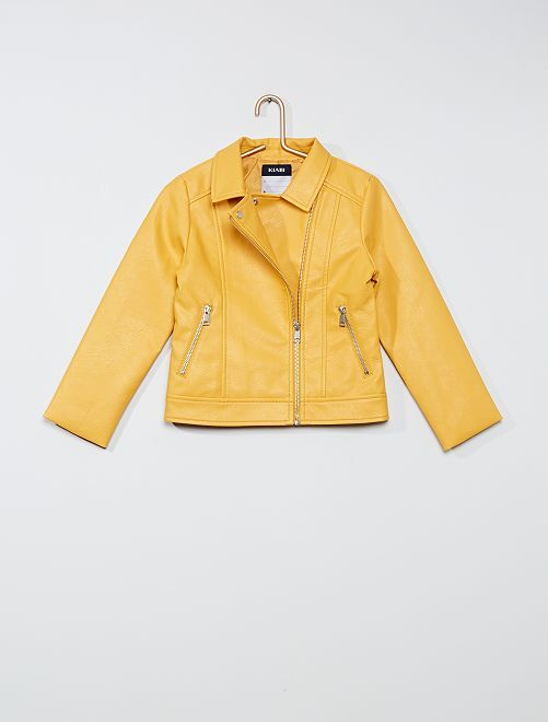 Blouson                                                                 jaune