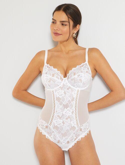 Body Arum 'Sans Complexe'                                         blanc