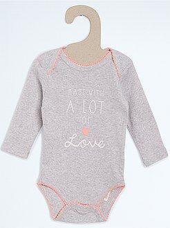 Fille 0-36 mois Body coton imprimé