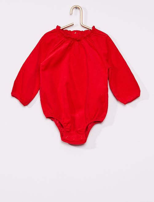 Body éco-conçu                     rouge