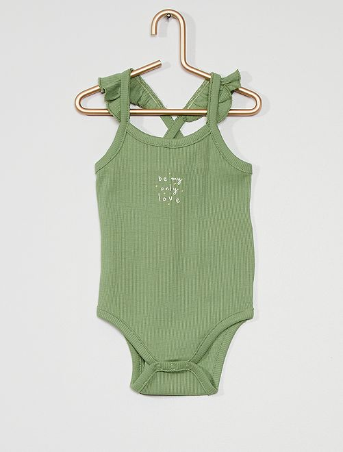 Body éco-conçu                                         vert