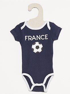 Garçon 18 mois - 5 ans Body imprimé football
