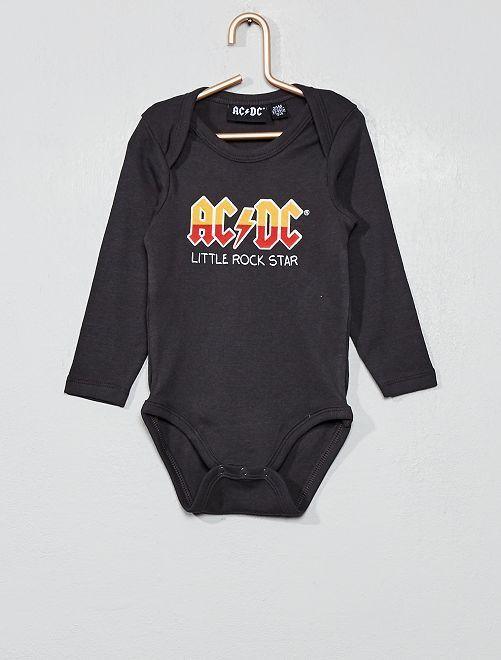 Body jersey 'AC/DC'                             gris
