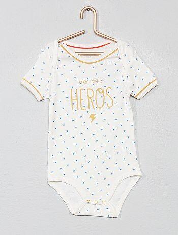 f08684f490724 Bodies pour bébé - body naissance Vêtements bébé