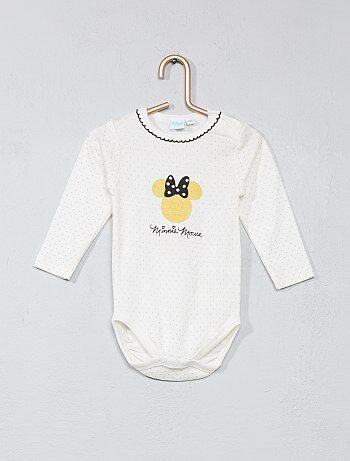 Fille 0-36 mois - Body 'Minnie mouse' - Kiabi