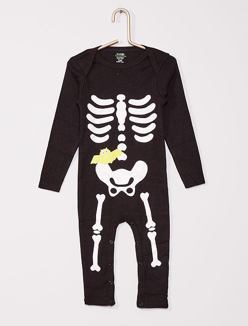 Body 'squelette' éco-conçu                             noir