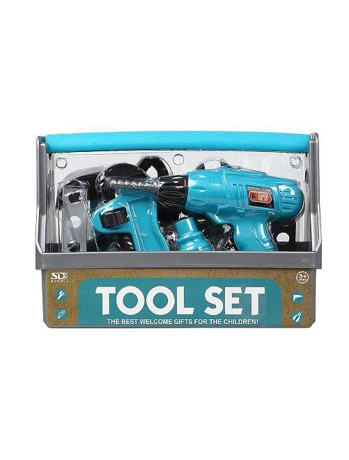 Boite à outils                             bleu