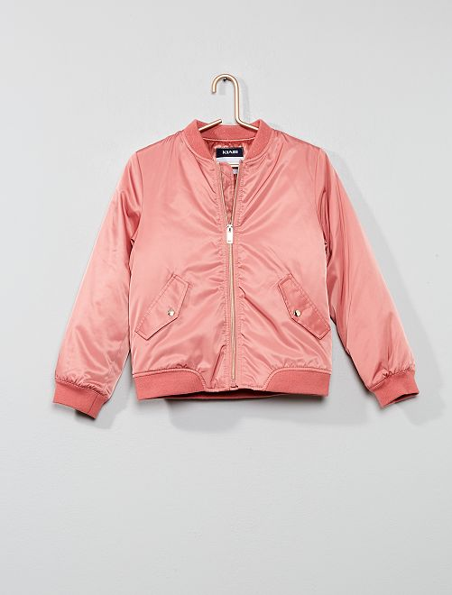 Bomber col brillant                                         rose