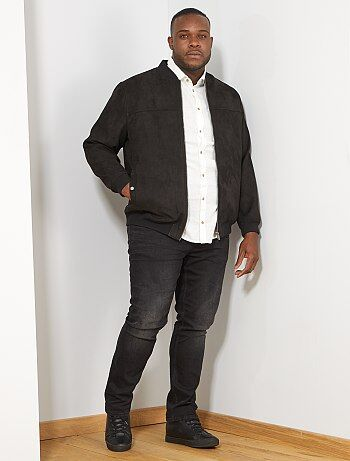 718f38aae49fc Blouson cuir homme, blousons simili cuir pas cher Vêtements homme ...