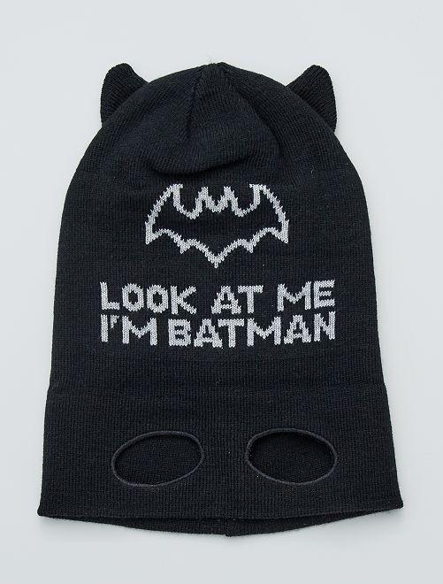 Bonnet 'Batman'                             noir