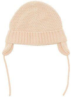 Accessoire - Bonnet cache-oreilles en tricot