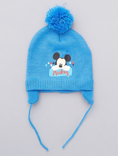 Bonnet Mickey 'Disney Baby'                                         bleu