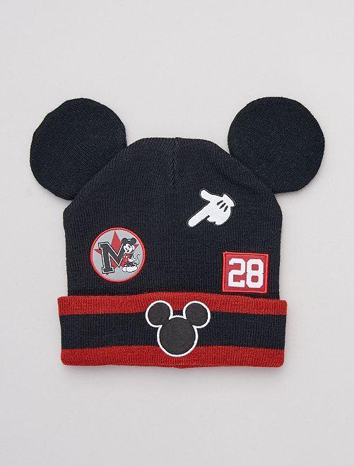 Bonnet 'Mickey'                             noir/rouge